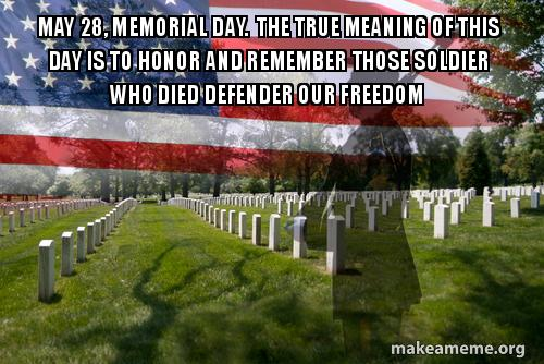 Memorial Day Meme Photos