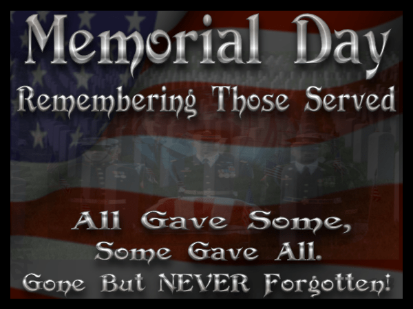 Memorial Day Quotes 2019