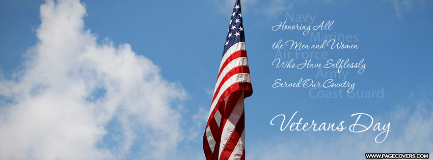 Veterans Day FB Cover Photos