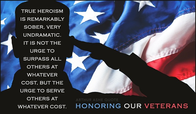 Veterans Day Greetings